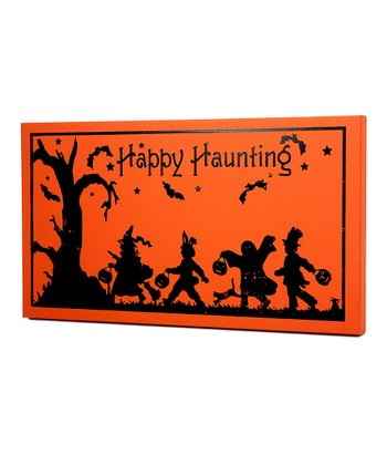'Happy Haunting' Large Wall Art