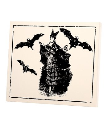 Bat Lady Small Wall Art