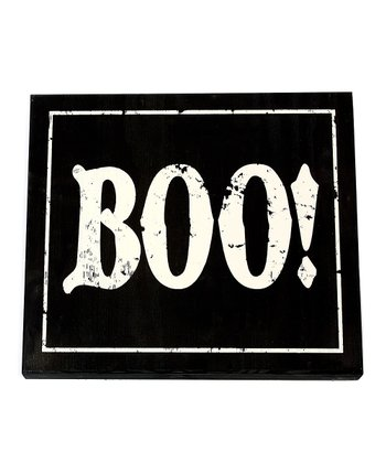 'Boo' Small Wall Art