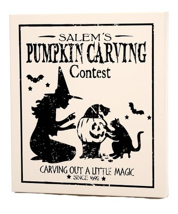 'Carving Contest' Small Wall Art