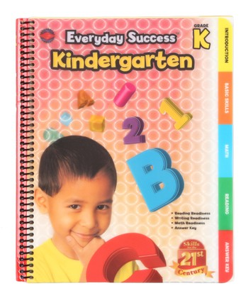 Everyday Success: Kindergarten Paperback
