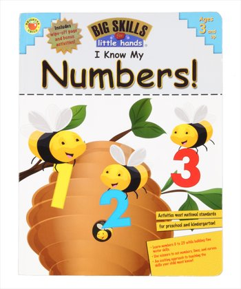 Big Skills for Little Hands: I Know My Numbers! Paperback