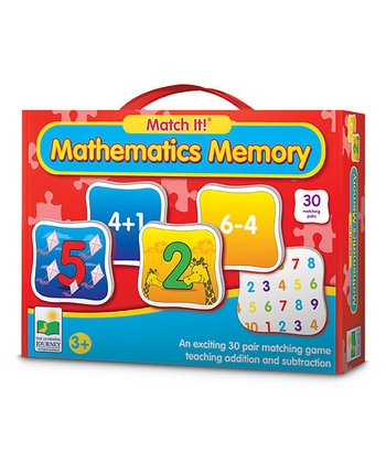 Match It! Mathematics Memory Game