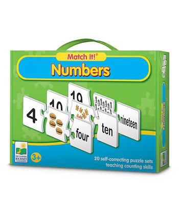 Match It! Numbers Puzzle Game
