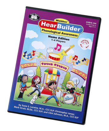 Webber HearBuilder Phonological Awareness Home Version CD-ROM