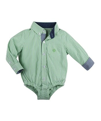 Green Lord Of The Gings Shirtzie Bodysuit - Infant