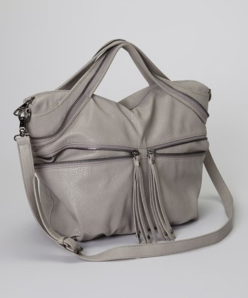 Gray Nola Shoulder Bag