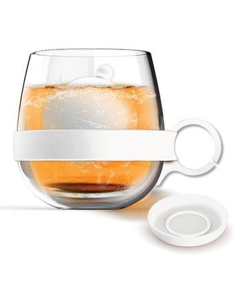 Marshmallow White Tea Ball Mug