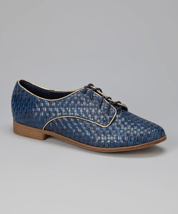 Blue Abella Oxford