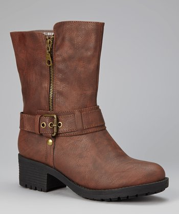 Brown Roger Boot