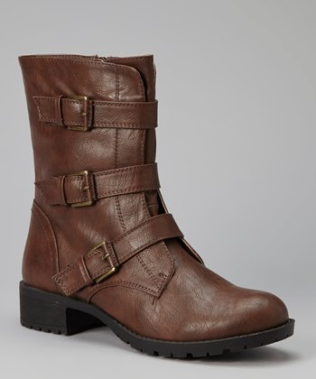 Cognac Pump Boot