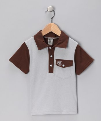 Gray Cha Ching Polo - Infant, Toddler & Boys