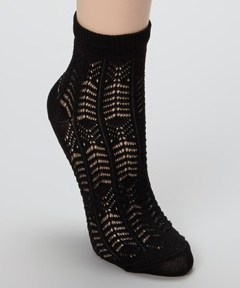 Black Garcone Socks
