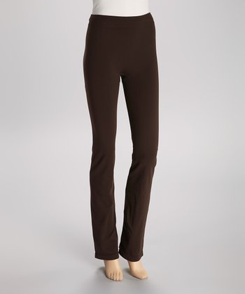 Dark Brown Seamless Leggings