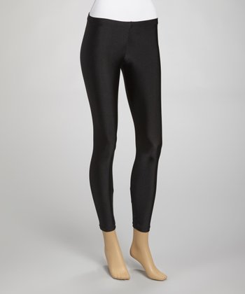 Black Seamless Leggings