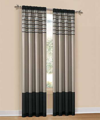 Emblem Cityscape Curtain Panel