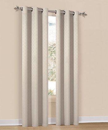 Champagne Hampton Curtain Panel