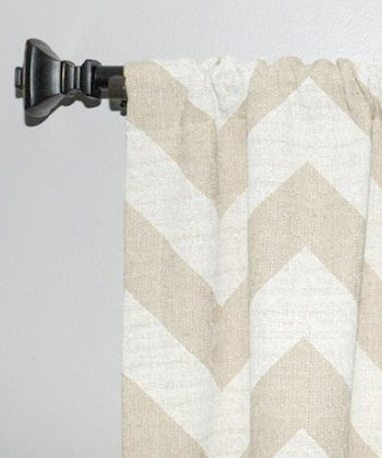 Cloud Zigzag Curtain Panel