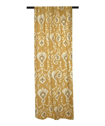Barley Ikat Curtain Panel