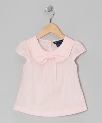 Pink Dameia Blouse - Toddler & Girls