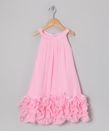 Pink Dana Dress - Toddler & Girls