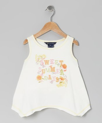 Off-White 'Sweet Summer Days' Danica Top - Toddler & Girls