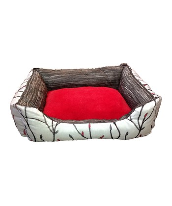 Black & Red Sutton Pet Bed