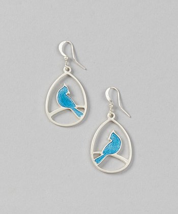 Blue Abia Songbird Earrings