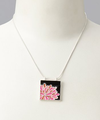 Pink & Aqua Tara Reversible Necklace