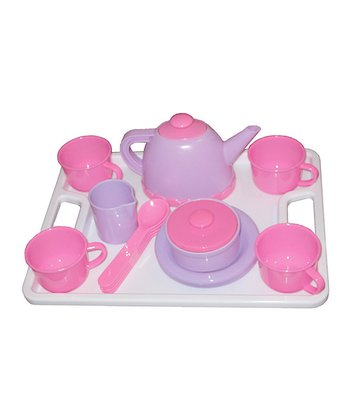Pink & Purple Play Tea Set