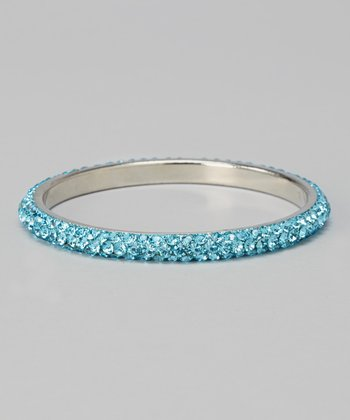 Turquoise Anni Crystal Bangle