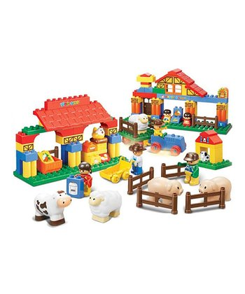 Big Blocks Happy Farm Starter Block Set