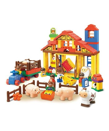 Big Blocks Happy Farms Complete Ranch Block Set