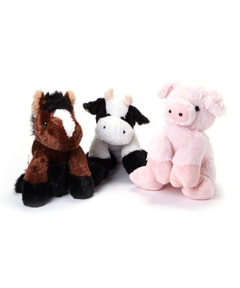 Snuggle-Ups Farm Plush Toy Set