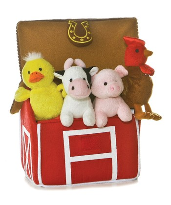 'My Barnyard Friends' Plush Toy Set
