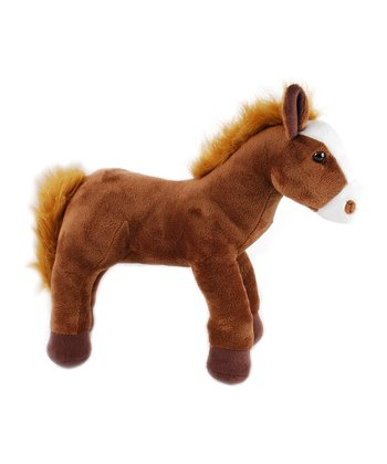 Brown Horse Plush Toy