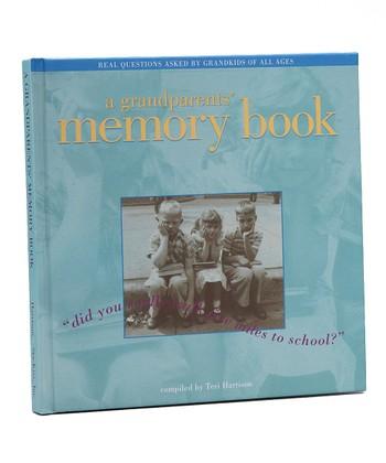 Grandparent Gift Company A Grandparents' Memory Book Hardcover