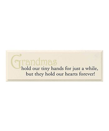 GANZ Tan & Black 'Hold Our Hearts Forever' Wall Art