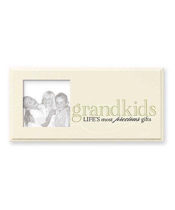 GANZ Tan & Black 'Grandkids Life's Most Precious Gifts' Frame