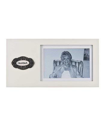GANZ Ivory 'Grandma' Frame