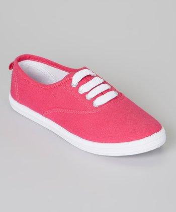 Pink & White Sneaker
