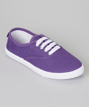 Purple & White Sneaker
