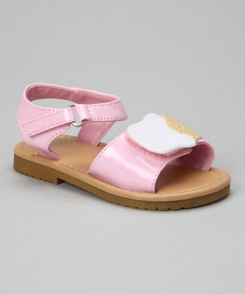 Light Pink Patent Ice Cream Sandal