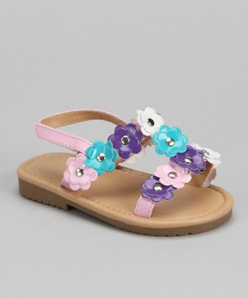 Light Pink Flower Sandal