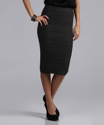Black Pencil Skirt - Women