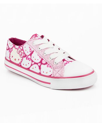 Pink Hello Kitty Fawn Sneaker