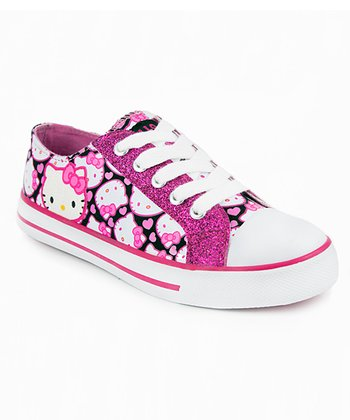Fuchsia Hello Kitty Fawn Sneaker