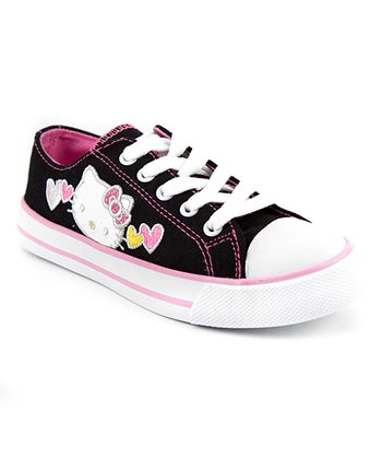 Black Hello Kitty Katie Sneaker