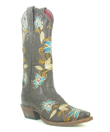 Black Vegas Bound Cowboy Boot - Women