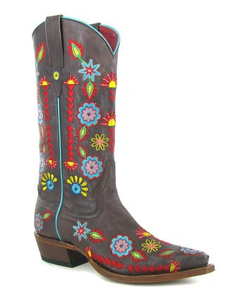 Brown Southwesterly Soul Cowboy Boot - Women